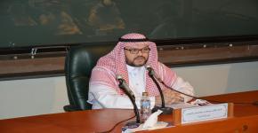 د . الشميمر ي في لقاء مفتوح لطلبة الدراسات العليا بكلية التربية
