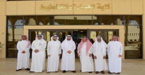كلية العمارة والتخطيط تستقبل وكيل الجامعة للمشاريع