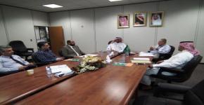المركز يستضيف مستشار عمادة البحث العلمي بجامعة الملك سعود