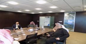 مركز الابتكار يبحث اوجه التعاون مع شركة وادي الرياض