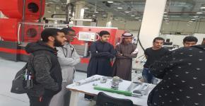 موهوبي الجامعة يزورون معامل مدينة الملك عبدالعزيز للعلوم والتقنية