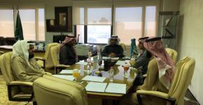 لجنة الاستثمار بصندوق الطلاب تناقش المشاريع الاستثمارية