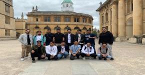 انطلاق البرنامج الاثرائي الصيفي الخارجي بأكسفورد للطلبة المتفوقين بجامعة الملك سعود