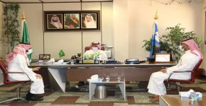 وفد الهيئة العامة للغذاء والدواء واللجنة الوطنية للتغذية يزور كلية علوم الرياضة
