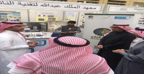 معهد الملك عبدالله لتقنية النانو يشارك في معرض استكشاف العلوم بالجامعة