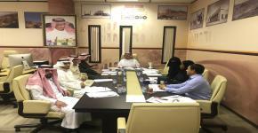 عقد الاجتماع الأول للجنة العلمية لمركز الملك سلمان لدراسات تاريخ الجزيرة العربية وحضارتها
