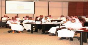 41 برنامج تدريبي لشهر ربيع الاول 1436هـ لتطوير مهارات موظفي وموظفات الجامعة