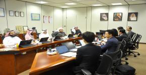 زيارة وفد من شركة الطاقة الكهربائية الكورية إلى كلية الهندسة