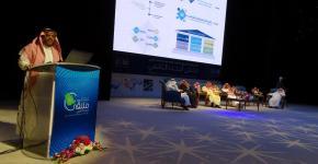 معهد الملك عبدالله لتقنية النانو يشارك في ملتقى البحث العلمي بالجامعة