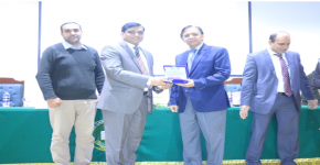 KSU Represented by Dr. Farrukh Khan as a Keynote Speaker at an International Conference