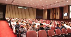 كلية المجتمع بجامعة الملك سعود تقيم اللقاء الطلابي للفصل الدراسي الثاني  للعام الجامعي 1438/1439هـ