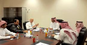 To provide a better English language training: DSP administration has met with British Council