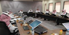 عميد الدراسات العليا يشارك في اجتماع مجلس كلية العلوم