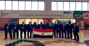 زيارة وفد طلابي من جمهورية مصر الى مكتبة الملك سلمان المركزية
