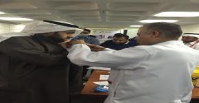 طلاب ومنسوبي كلية الأمير سلطان للخدمات الطبية الطارئة ضد الانفلونزا