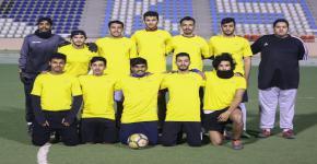 انطلاق كأس معالي مدير الجامعة للكرة القدم 