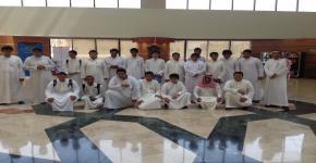 وفد مجمع الملك سعود التعليمي بالمكتبة المركزية