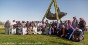زيارة قسم اللغة العربية وآدابها لمنطقة الجوف