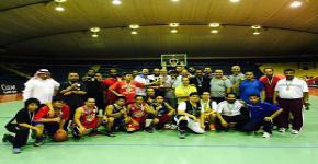 بطولة الجامعة لكرة السلة للمنسوبين
