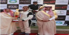 توج صاحب السمو الملكي الأمير فيصل بن بندر الفائزين في مهرجان السباقات الخامس
