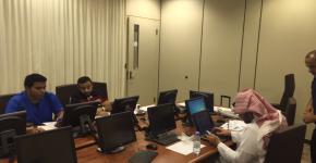 عقد مركز التميز في التعلم والتعليم دورة تدريبية عن استخدام انظمة الإستجابة الشخصية (كليكرز)