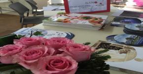 مشاركة الفرع النسائي بمعهد الملك عبدالله لتقنية النانو في لقاء الإنجاز بمدينة الطالبات