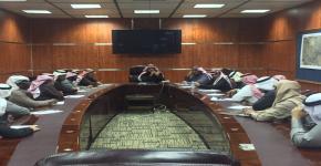 الاجتماع الأول بعد تكليف مدير عام الإدارة العامة للسلامة والأمن الجامعي