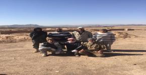 طلاب قسم الآثار يواصلون التدريب الميداني بمحافظة العلا
