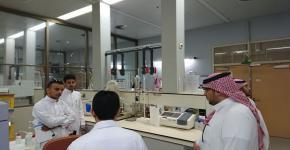 98- طلاب الزراعة في زيارة لمدينة الملك عبدالعزيز للعلوم والتقنية.