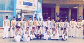 المسار السياحي في جامعة الملك سعود يستقبل ثانوية المذنب