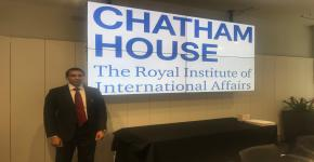 Royal Institute of International Affairs (Chatham House UK) Invites KSU Professor