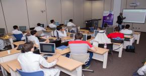 دورة في تصميم صفحات الويب للطلبة المتفوقين بالسنة الأولى المشتركة