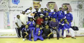منتخب الجامعة للكاراتيه يحقق المركز الاول على الجامعات السعودية ضمن بطولة الاتحاد الرياضي للجامعات السعودية