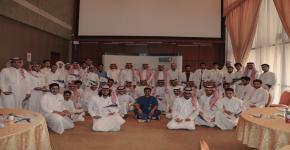 حفل تكريم طلبة المرحلة الثانية في برنامج الطلبة المتفوقين بجامعة الملك سعود