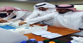 تهنئة ومعايدة بمناسبة عيد الفطر 1436هـ بكلية الأمير سلطان بن عبدالعزيز للخدمات الطبية الطارئة