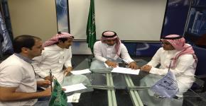 إدارة برنامج الطلبة المتفوقين في جامعة الملك سعود تعقد لقاءً لمناقشة وتقييم ما تم إنجازه