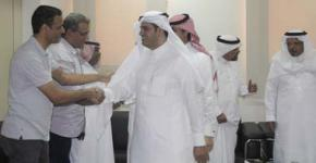معهد اللغويات العربية يقيم حفل معايدة