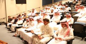 لقاء رئيس قسم اللغة العربية وآدابها مع الطلبة