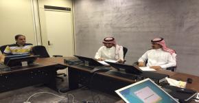 الاجتماع الأول لإدارة برنامج الطلبة المتفوقين