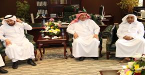 وكالة الجامعة للمشاريع تعايد منسوبيها بمناسبة عيد الفطر المبارك