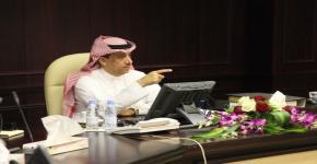 في جلسته الثانية، مجلس الجامعة يوافق على الصيغة النهائية للائحتي استقطاب الباحثين السعوديين وغير السعوديين على البنود الذاتية للجامعة