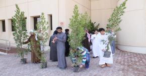 """فعالية """" الشجرة حياة """" تقام في السنة الأولى المشتركة احتفاءاً بــ """" أسبوع الشجرة ( 40 ) """""""