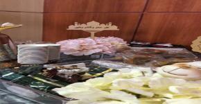 حفل المعايدة  بمناسبة عيد الأضحى المبارك في المدينة الجامعية للطالبات