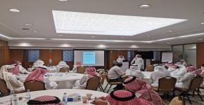 توجيه وإرشاد جامعة الملك سعود يشارك في ورشة الوعي الفكري
