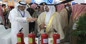 جامعة الملك سعود تحتفل باليوم العالمي للدفاع المدني ٢٠١٨