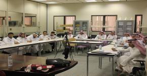 """أفكر يناقش:"""" المكتبة الرقمية السعودية. بوابتك لعالم المعرفة أساسيات ومهارات البحث في البيئة الرقمية """""""