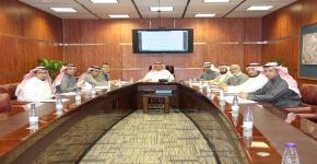 اللجنة الدائمة للنقل والحركة المرورية والمواقف تعقد اجتماعها الأول للعام الحالي 1440/1441هـ