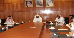 اجتماع المجلس الاستشاري الاول للطلاب