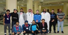 نادي اسكان الطلاب يختتم بطولة الالعاب الفردية للفصل الدراسي الأول 1439-1440هـ