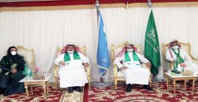 كلية التمريض تقيم احتفالا بمناسبة اليوم الوطني السعودي 91